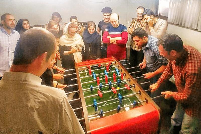 مسابقات لیگ فوتبال دستى گروه شرکت هاى سان در بهمن ماه ١٣٩٨