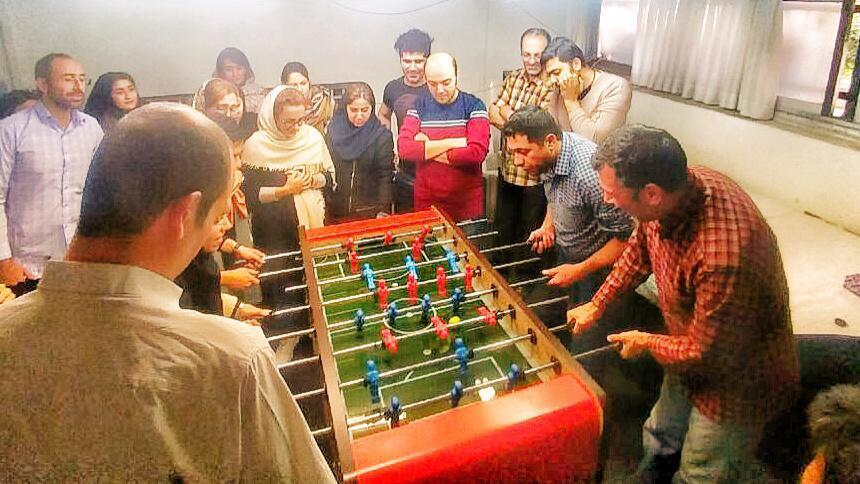 برگزارى اولین دوره از مسابقات لیگ فوتبال دستى گروه شرکت هاى سان در بهمن ماه ١٣٩٨